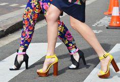 Street Style at Sydney Fashion Week - Tommy Ton Carrie Bradshaw, Stilettos, High Heels, Sydney Fashion Week, Monica Rose, Fashion Shoes, Fashion Accessories, Ootd Fashion, Street Fashion