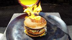 Here's what happens when you pour molten copper on a Big Mac http://ift.tt/1plXipP  Its an old rumorthat McDonalds fast food doesnt rot. And though informal experiments that put fast food to the test of time are far from conclusive YouTube user Tito4re put the Big Mac up against another more immediate stressor: molten copper.  Well say this: The Big Mac puts up a hell of a fight.  [H/T: Digg]  4-year-olds world shatters with news of Peyton Mannings retirement  Heres what happens when you ask…