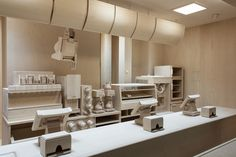 Carcass: A Scale Replica of a Fast Food Kitchen Carved Entirely from Wood by Roxy Paine wood installation fast food dioramas Roxy, Tool Design, Design Process, Lego, Photo Awards, Colossal Art, Branding, Wooden Kitchen, Color Theory