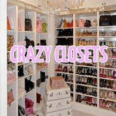 Handbag and shoe storage Closet Built Ins, Closet Shoe Storage, Walk In Closet, Closet Organization, Organizing, Big Closets, Dream Closets, Cleaning Closet, Cleaning Tips