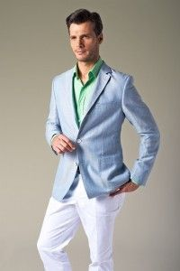 Light blue blazers, Men's style and Blazers on Pinterest