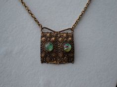 Repurposed Recycled Upcycled Ooak Metal and by KimsKreations17, $44.99