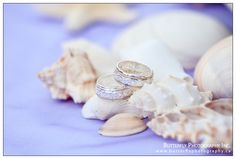 our rings, seashell wedding, beach wedding, Celtic wedding bands, Celtic rings