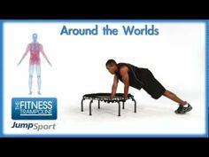 JumpSport Fitness Trampoline Workouts - Around the Worlds