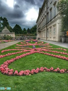 Get lost behind sculpted fountains in the Mirabell Gardens & reminisce scenes from the Sound of Music. #Salzburg #Austria #travel #travelguide #traveltips