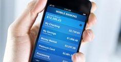 Banque sur mobile