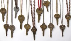 Giving Keys, personalized keys engraved by the homeless, to get them off the streets.  Great idea.