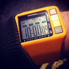 Spaceman LCD watch