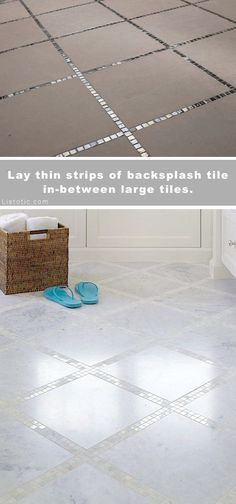 Beautiful and creative tile ideas for kitchen back splashes master bathrooms small bathrooms patios tub surrounds or any room of the house!