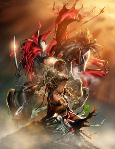 Spawn and Witchblade