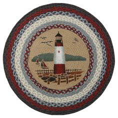 You'll love the Lighthouse Printed Area Rug at Wayfair - Great Deals on all Décor  products with Free Shipping on most stuff, even the big stuff.