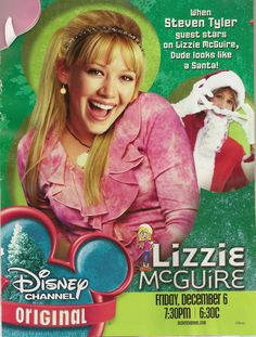 Pin for Later: 8 Seriously Hot Stars Who Got Their Start on Disney Hilary Duff Everyone wanted to be Hilary's best friend when she was our best friend on Lizzie McGuire. Old Disney Movies, Phil Of The Future, Old Disney Channel, Family Tv, Boy Meets World, Steven Tyler, Lizzie Mcguire, 90s Nostalgia, Hilary Duff