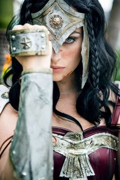 Warrior Wonder Woman Cosplay