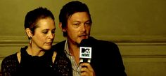 Melissa McBride and Norman Reedus, The Walking Dead