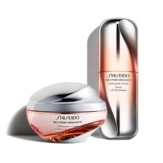 Shop Shiseido Bio-Performance LiftDynamic Cream, an anti-aging sculpting cream that reveals a visibly firmer, lifted look Shiseido Skincare Packaging, Beauty Packaging, Cosmetic Packaging, Best Skin Cream, Luxury Cosmetics, Cosmetic Bottles, Cosmetic Design, Anti Aging Treatments, Shiseido
