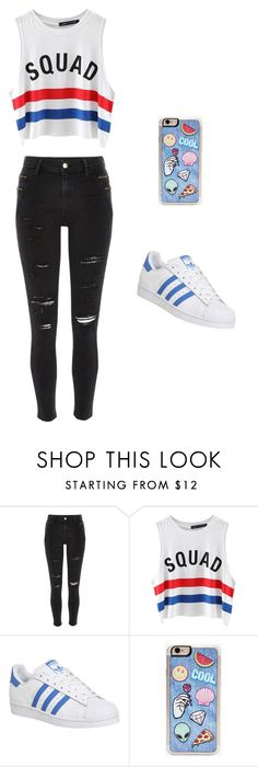 """""""Boss"""" by imonyyy on Polyvore featuring River Island, Chicnova Fashion, adidas and Zero Gravity"""