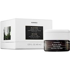 Korres Black Pine Firming, Lifting & Antiwrinkle Day Cream ($58) ❤ liked on Polyvore featuring beauty products, skincare, face care, face moisturizers и korres