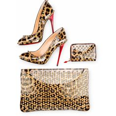 Loubiposh Pochette ($1,095) ❤ liked on Polyvore featuring bags, handbags, clutches, christian louboutin purse, christian louboutin, white purse, white handbags and christian louboutin handbags