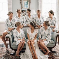 Just received a few of our wedding photos back from @bethanysmallphoto & I can't wait to share with you guys I love this picture - these are my best friends in the whole entire world they kept me calm the entire wedding day & laughing with their hilarious dance moves ♀️ Follow me in the @liketoknow.it app for details on all of our robes! http://liketk.it/2w1kj #weddingday #wedding #married #weddingmakeup #bridesmaids