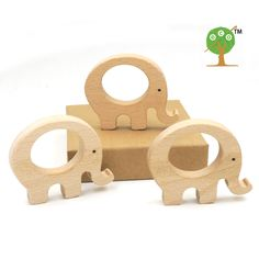 x unfinished beech elephant wooden DIY finding beech teether baby carrier toy inch chew baby gift Bois Diy, Toy 2, Latex Free, Wooden Diy, Baby Care, Baby Toys, Baby Shop, Baby Gifts, Elephant