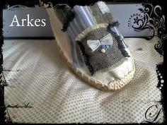 Personaliza todo con Arkes: Alpargata rayas