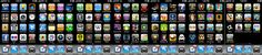 These are all the apps currently on my iPhone. There are many, many notes with links. If there isn't a note on an app leave a comment and I'll add one. I just did my favorites at the moment. To get a closer look, see the original size.    Tip: to get a Who was the supposedly wrong number from? Track the Phone with SpyPhone: