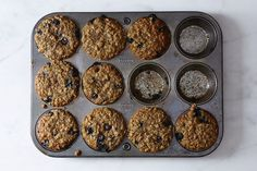 Blueberry, Oatmeal and Flaxseed Muffins (try cranberry, too) - looks like it makes two pans, so you could halve or even split the batter between muffins and a loaf