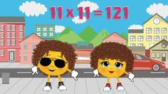 11 Times Table Song - Learn The Fun Way! Learn your 11 times table easily. Learning in song is so easy! Pop the CD on for the school run and you will be guaranteed results :) Multiplication Made Easy!