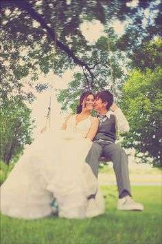Wedding pictures like this. <33