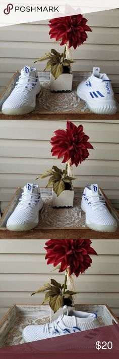 premium selection e501d 0c478 Adidas Dame 4 WhiteRoyal Blue Size 7.5 Adidas Dame 4 WhiteRoyal Blue