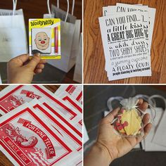 DIY kids activity bags for weddings