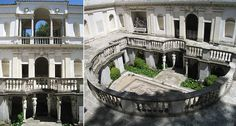 Villa Giulia, Roma, Vignola, 1550-55, manýrismus
