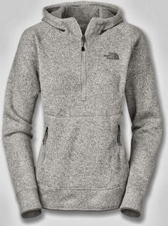 Comfy Grey North Face Hoodie