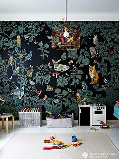 Minimalista e hipster Dark Nursery, Bedford House, Mission House, Cottage Interiors, Woodland Nursery Decor, Kids Room Design, Kid Spaces, Kids Bedroom, Room Inspiration