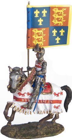 Sir John Codrington, Abanderado de Enrique V, Agincourt, 1415, 1:30, Del Prado