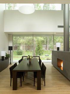 Maple Floor With Dark Grey Walls