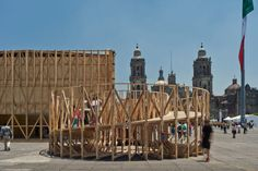 Productora, Luis Gallardo · Pavilion for the Culture Fair 2014