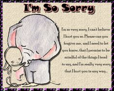 Free online I Can't Believe I Hurt You ecards on Everyday Cards Morning Hugs, Morning Wish, Healing Wish, Im Sorry Cards, Very Sorry, Cute Frogs, Saying Sorry, Wishes For You, Get Well Cards