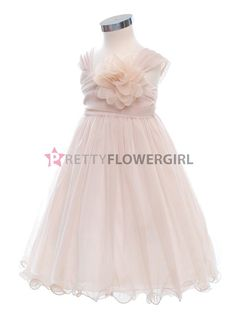 what do you think of this for a flower girl dress, it isn't white so it won't clash with your dress