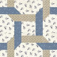 11-29 Celtic Twist. This pattern was originally published as Plaited Block by Nancy Cabot in the 1930s; however, I like the name McCall's Quilting gave it when they published it as part of their 'Ireland Quilt' Block of the Month in 2012, Celtic Twist.