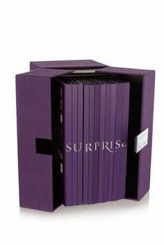 """""""Visionaire 55: Surprise"""" presents 12 hard cover pop-up books, boxed together, with projects by Steven Meisel, Mario Testino, Steven Klein, Sophie Calle, Andreas Gursky, Cai Guo-Qiang, Guido Mocafico, Sølve Sundsbø, Yayoi Kusama, Gareth Pugh and Alasdair McLellan."""