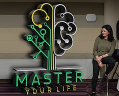 Master Your Life Logo in 3D