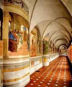 Toscana abbazia Monte Oliveto