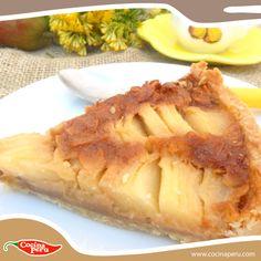 Aprende con nosotros a preparar un Pie de Peras, disfrútalo con quien más quieras ¡Buen provecho! http://www.cocinaperu.com/postres/pie-de-peras