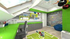 Wystrój wnętrz - Pokój dziecka dla dziewczynki - pomysły na aranżacje. Projekty… Loft, Bed, Furniture, Design, Home Decor, Decoration Home, Stream Bed, Room Decor, Lofts