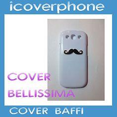 COVER PER SAMSUNG GALAXY S3  CUSTODIA SLIM CON BAFFI BELLISSIMA ULTRA PROTETTIVA