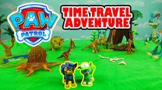 The Paw Patrol Time Traveling Dinosaur Adventure