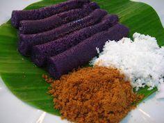 Puto Bumbong Filipino Delicacy
