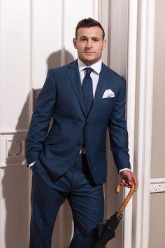 Lucky Blue | A Gentleman's Attire | Pinterest | Blue
