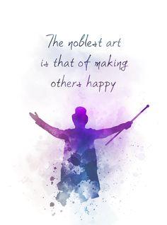 Greatest Showman Quote ART PRINT Inspirational, P.T. Barnum, Song, Music, Gift, Wall Art, Home Decor